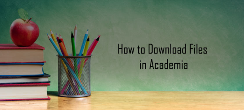 How to Download Files in Academia