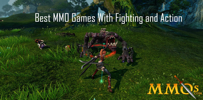 Best MMO Games With Fighting and Action
