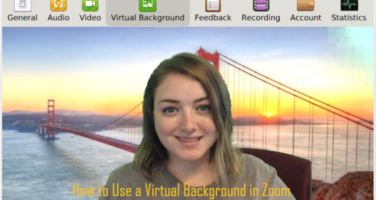 How to Use a Virtual Background in Zoom