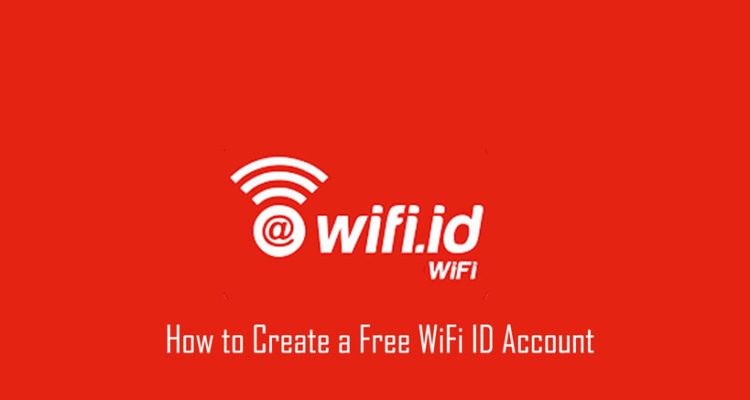 How to Create a Free WiFi ID Account