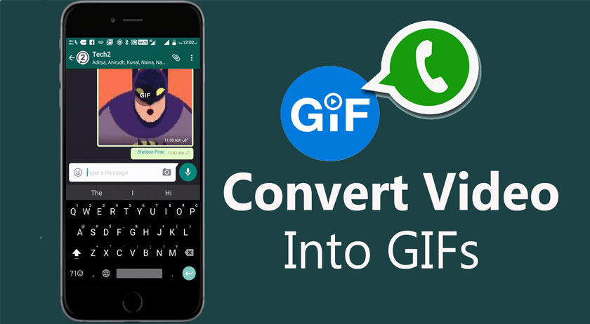 How to Convert Videos to GIF on WhatsApp