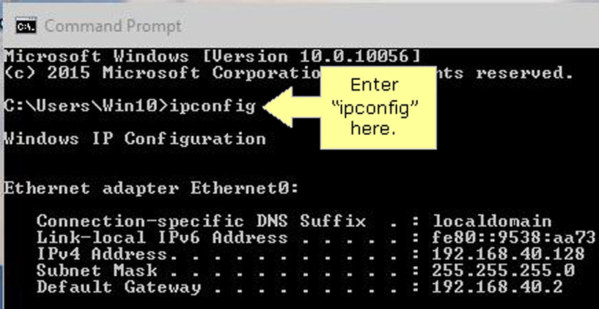 How to Know Wifi IP with CMD