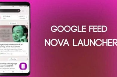 How to Enable Google Feed in Nova Launcher