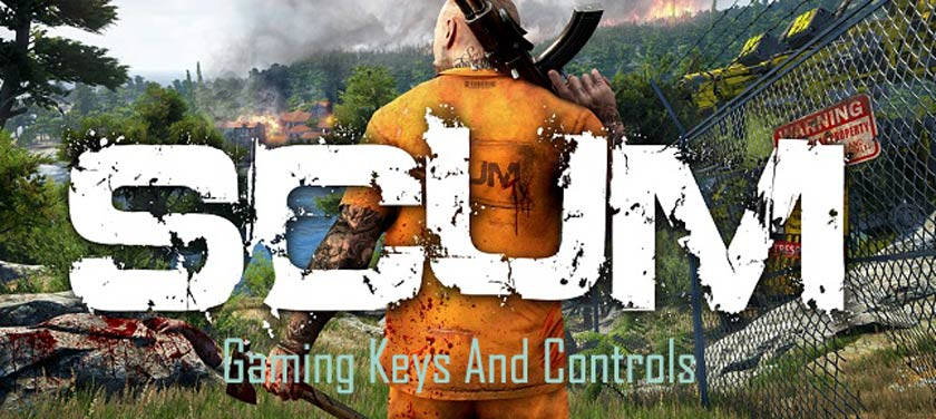 SCUM Gaming Keys And Controls
