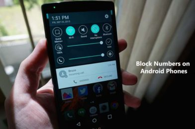 How to Block Numbers on Android Phones