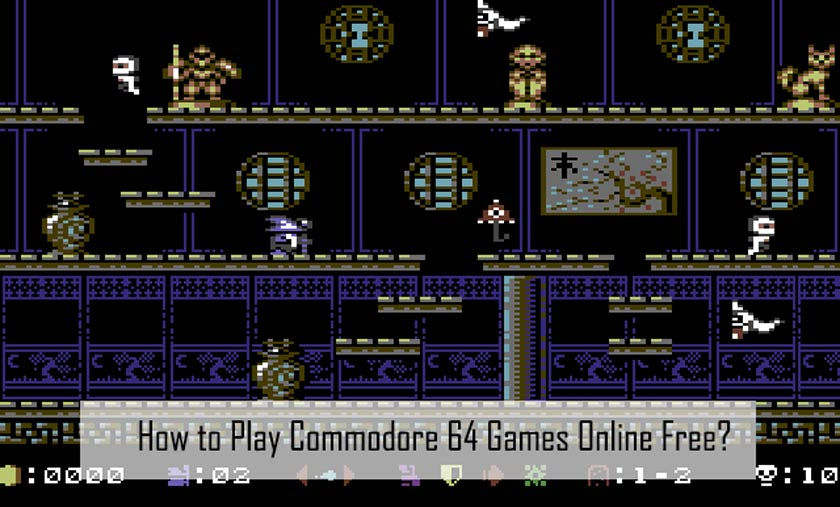 How to Play Commodore 64 Games Online Free?