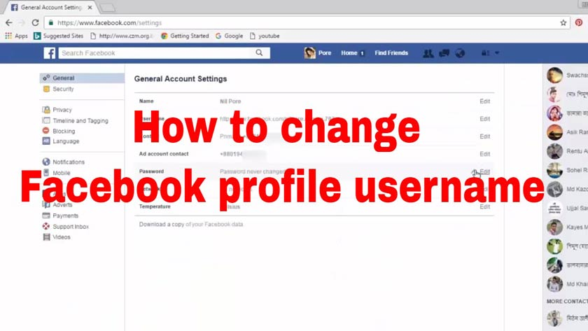 How to Change Your Facebook Profile URL