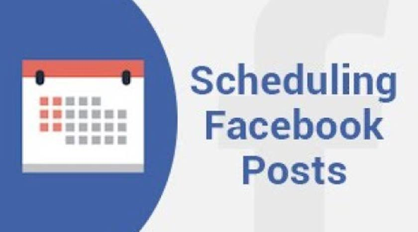 How to Make a Scheduled Posting on Facebook