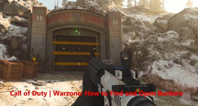 Call of Duty | Warzone: How to Find and Open Bunkers