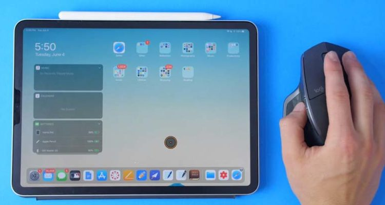 How to Use and Configure a Mouse on iPad with iPadOS