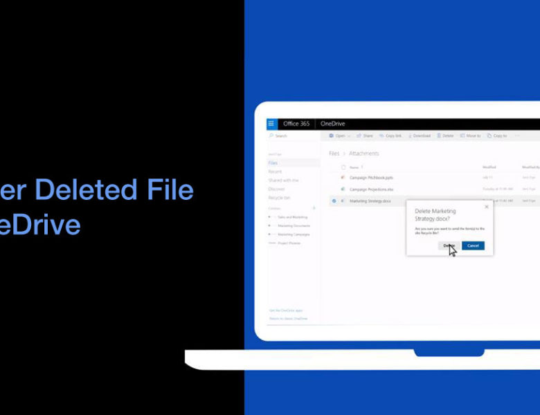 How to Recover Deleted File on OneDrive