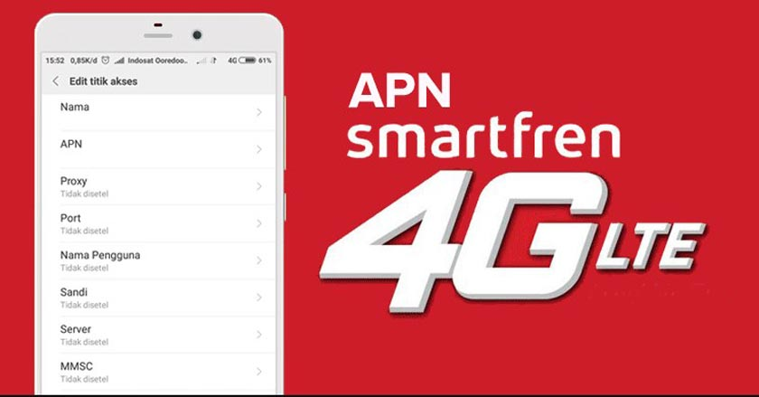4G Smartfren APN | How to Set it