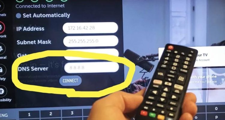 How to Change DNS on Smart TV