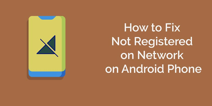 """Not Registered on the Network"" error: How to Solve It"