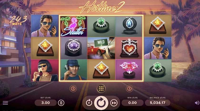 What's New About the NetEnt's Hotline 2 Slot Game
