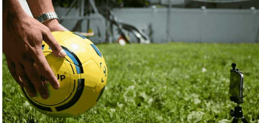 How to Control Smart soccer ball With an App