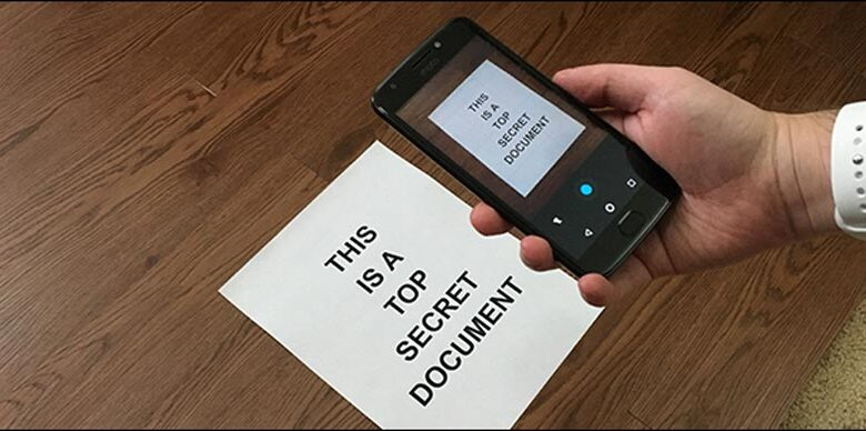 How To Scan Documents Through Android Phone