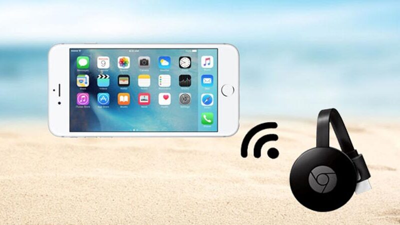 How to Mirror iPhone Screen on TV with Chromecast