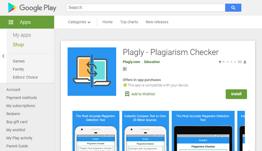 Plagly - Plagiarism Checker