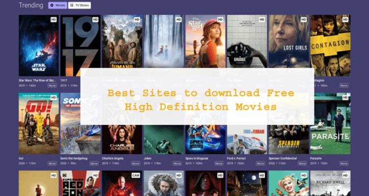 Free High Definition Movies | The Best Sites
