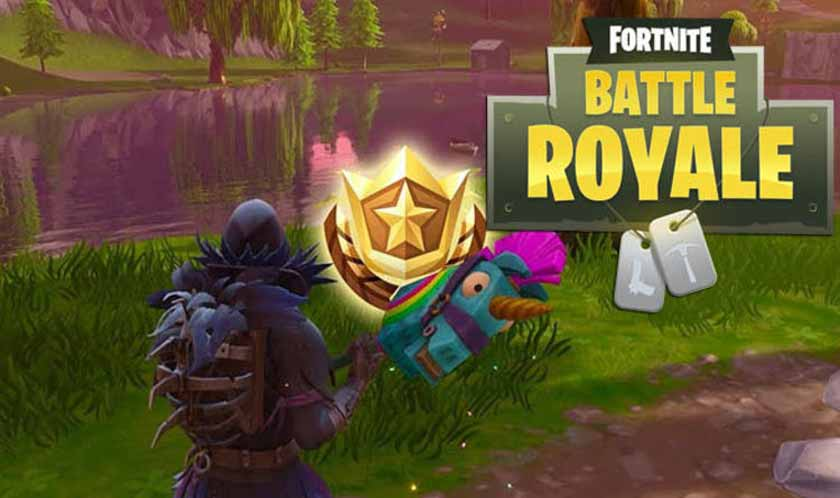 Fortnite Battle Royale | Week 8 Challenges