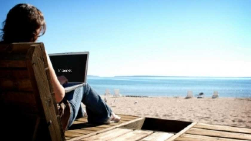 How To Use Internet When You're On Vacation