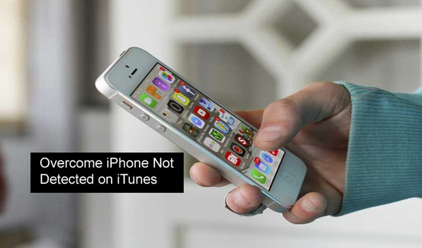5 Ways to Overcome iPhone Not Detected on iTunes
