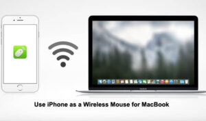 How to Use iPhone as a Wireless Mouse for MacBook?