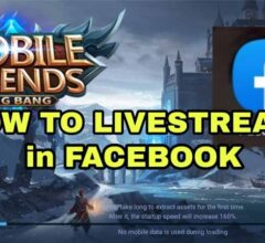 How to Live Streaming Mobile Legends: Bang Bang on Facebook