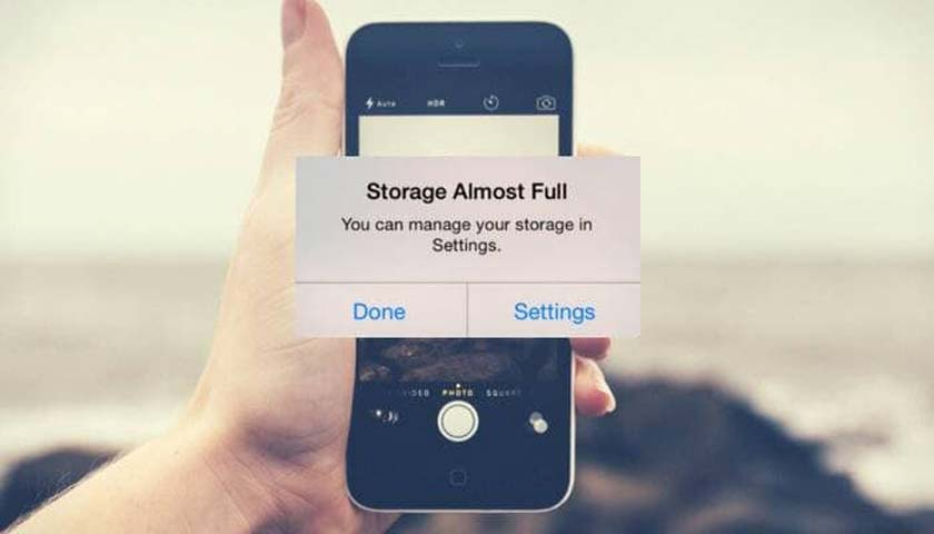 How to Get Rid of the Low Storage Space Notification