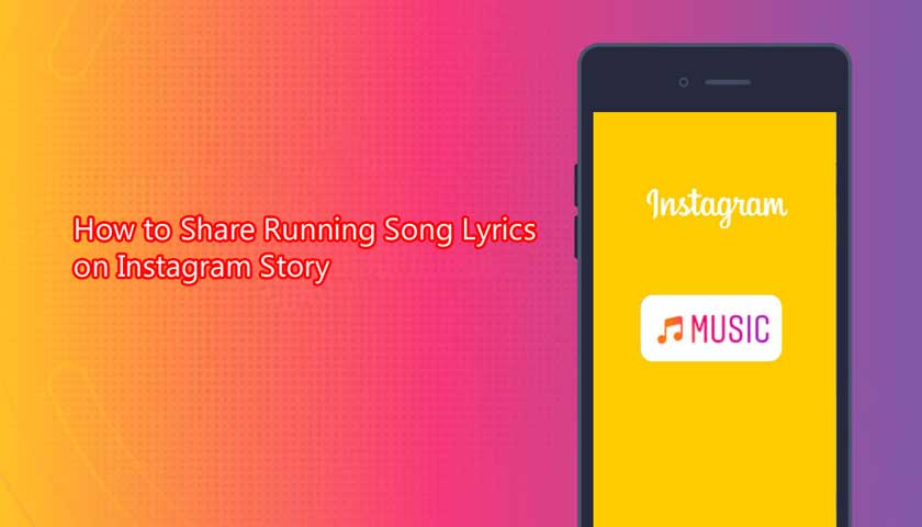 How to Share Running Song Lyrics on Instagram Story