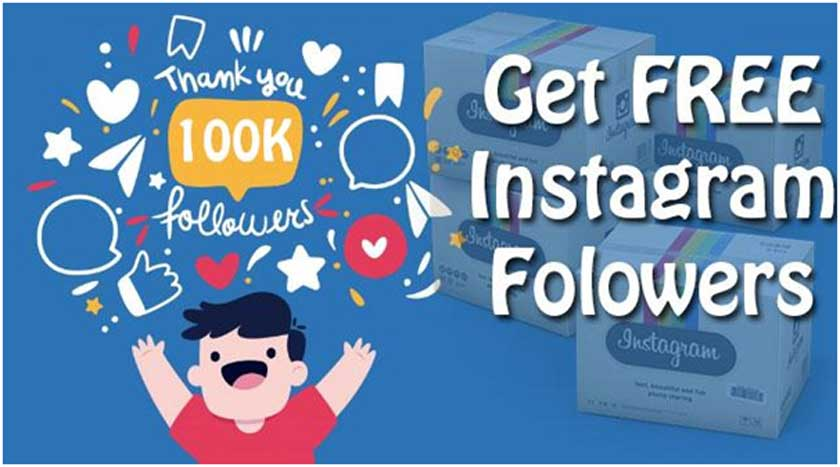 Get Real Free Followers on Instagram