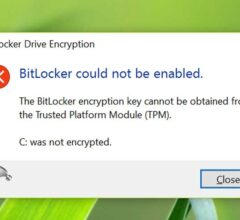How to Fix BitLocker Enable Error