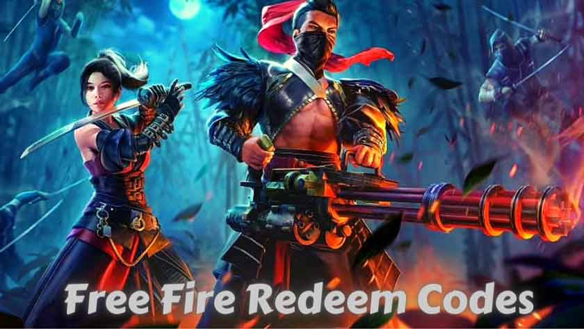 How to Get Free Fire Redeem Codes 2021