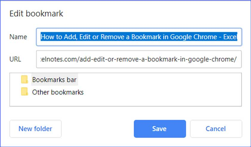How to Add and Delete Bookmarks in Google Chrome