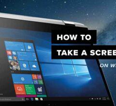 Take Screenshot on Windows 10 Laptop