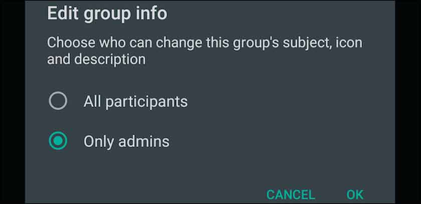 How to Prevent Members from Editing Group Details