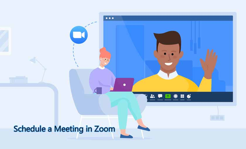 Schedule a Meeting in Zoom