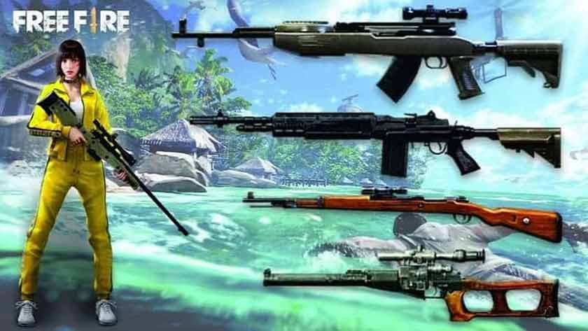 Garena Free Fire Weapons