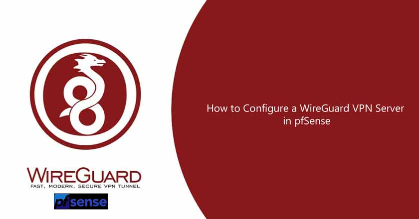 How to Configure a WireGuard VPN Server in pfSense