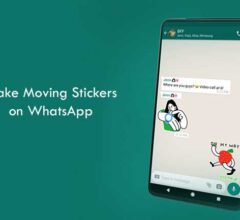 How to Make Moving Stickers on WhatsApp