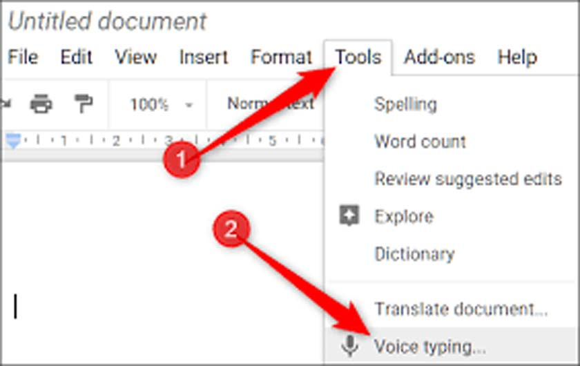 How to Type Documents in Word Using Voice