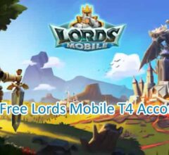 Get Free Lords Mobile T4 Accounts