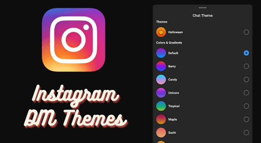 How to Change DM Themes on Instagram
