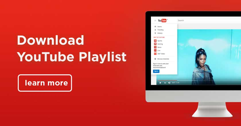 Download YouTube Playlists