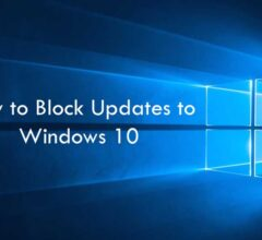 How to Block Updates to Windows 10