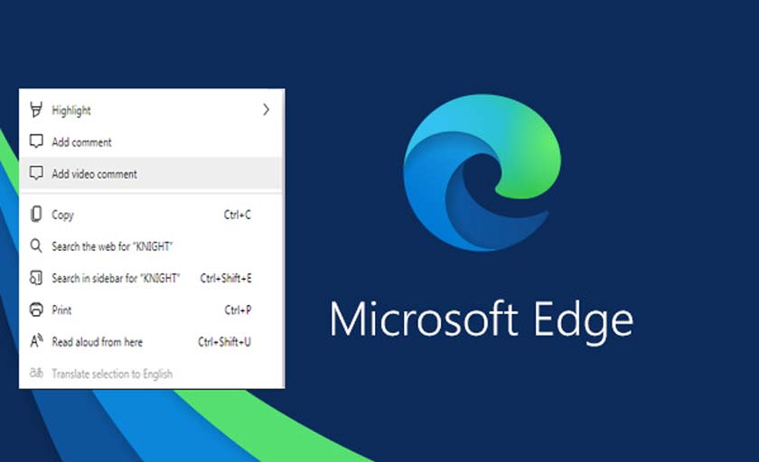 Enable Video Comment Feature in Microsoft Edge Chromium