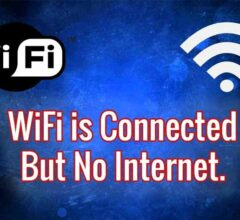 Overcome WiFi Connected But Cannot Access the Internet