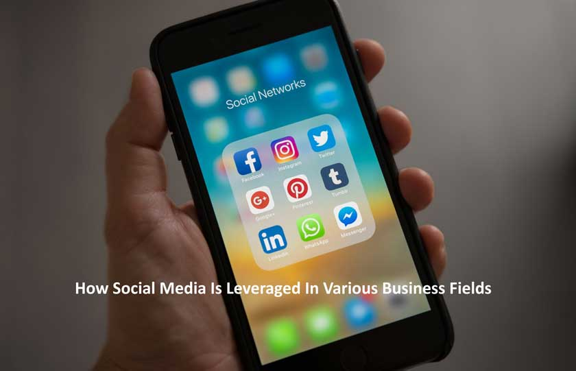 How Social Media Is Leveraged In Various Business Fields