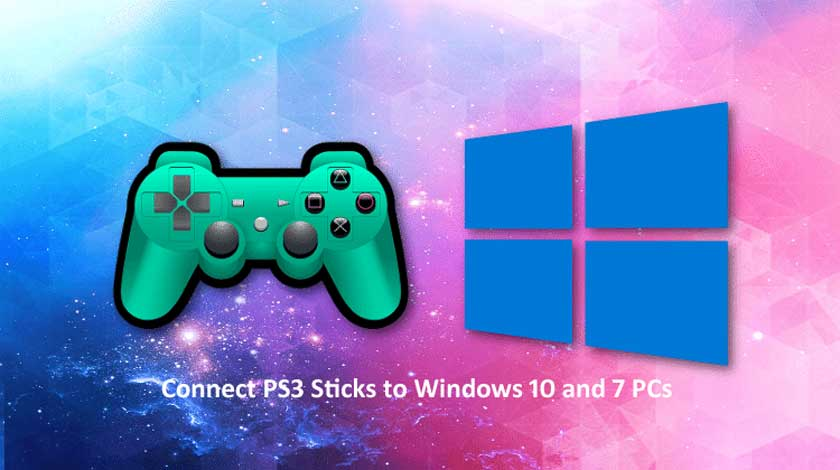 Connect PS3 Sticks to Windows 10 and 7 PCs